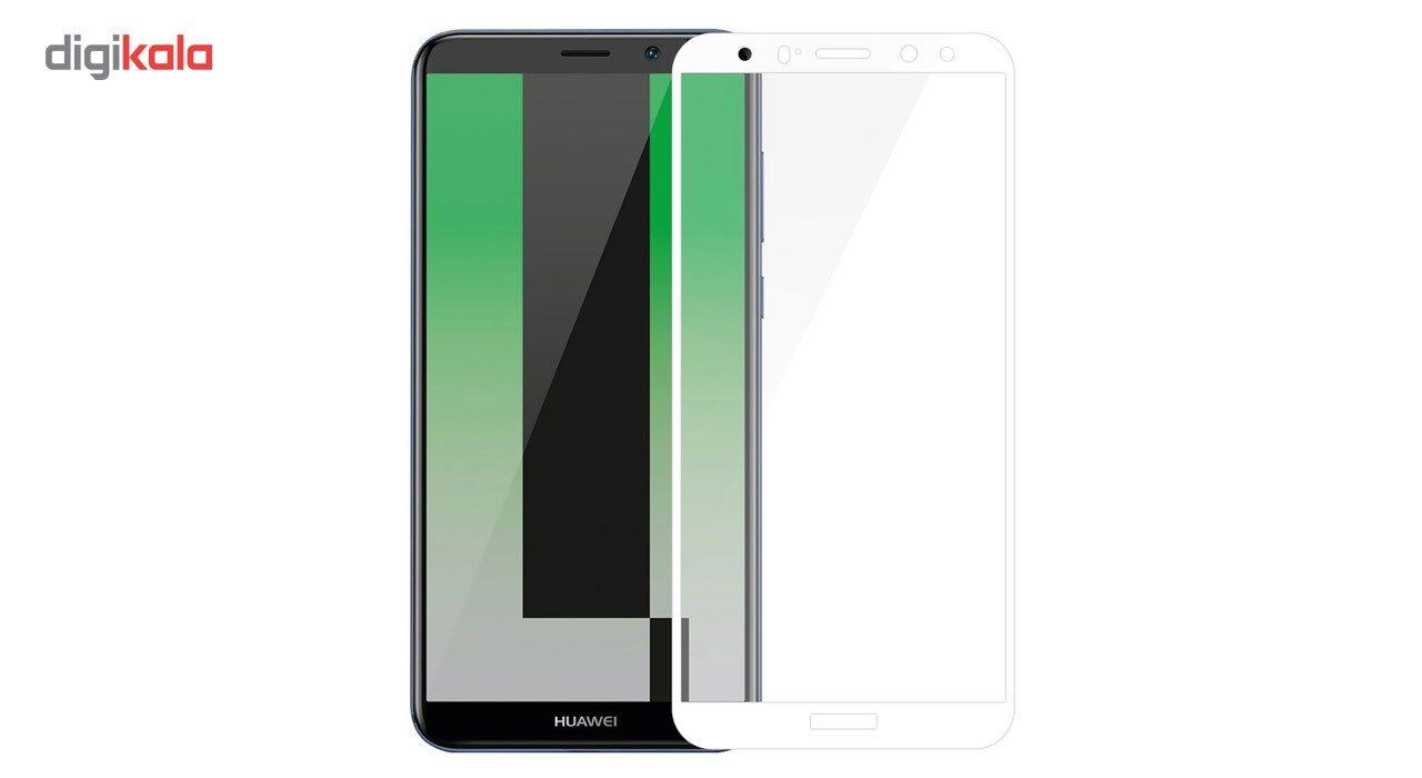 محافظ صفحه نمایش شیشه ای تمپرد مدل Full Cover مناسب برای گوشی موبایل هوآوی Mate 10 Lite main 1 3