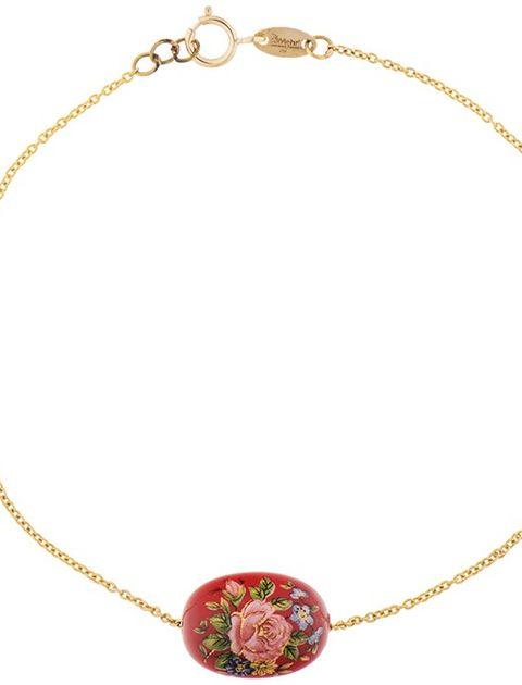 دستبند طلا 18 عیار ماهک مدل MB0199 -  - 2
