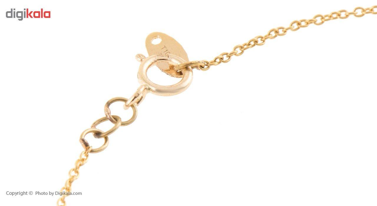 دستبند طلا 18 عیار ماهک مدل MB0199 - مایا ماهک -  - 1