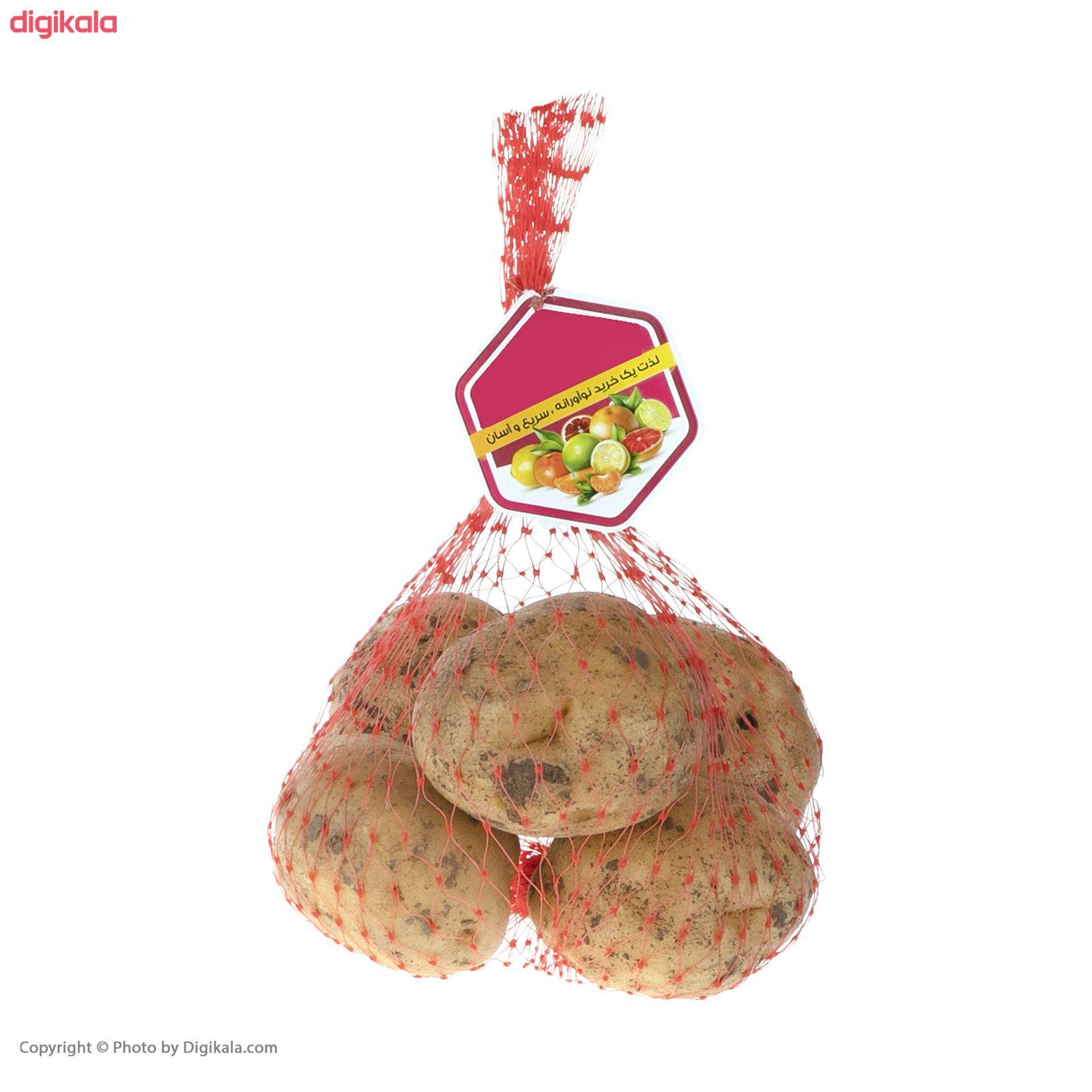 سیب زمینی میوه پلاس - 1 کیلوگرم main 1 3
