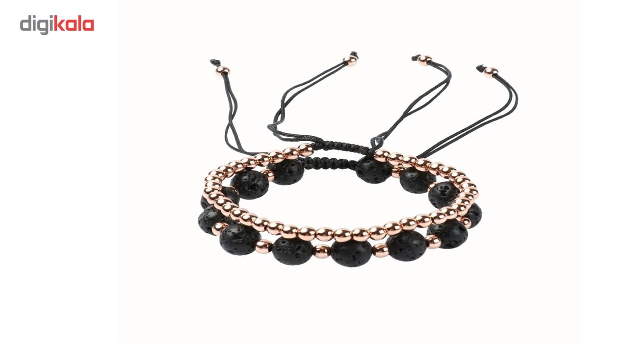 ست دستبند جینا طرح لاوا کدJBSR-001