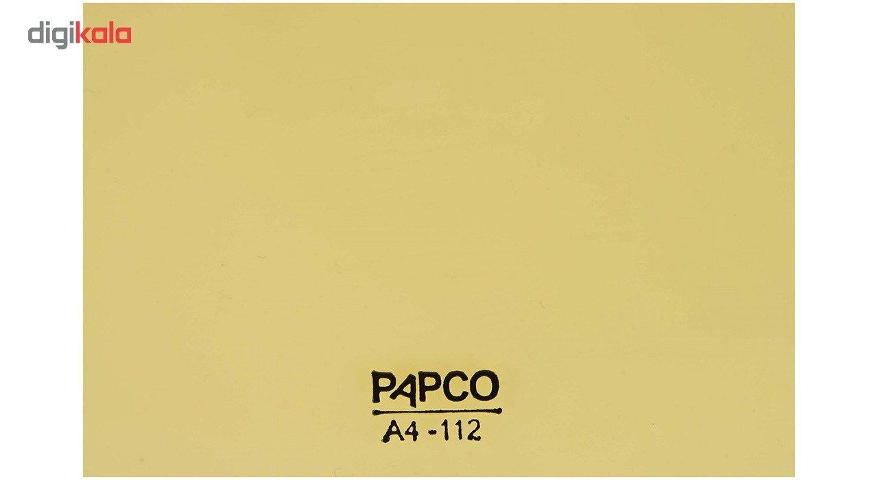 پوشه دکمه دار پاپکو کد A4-112 سایز A4 main 1 7