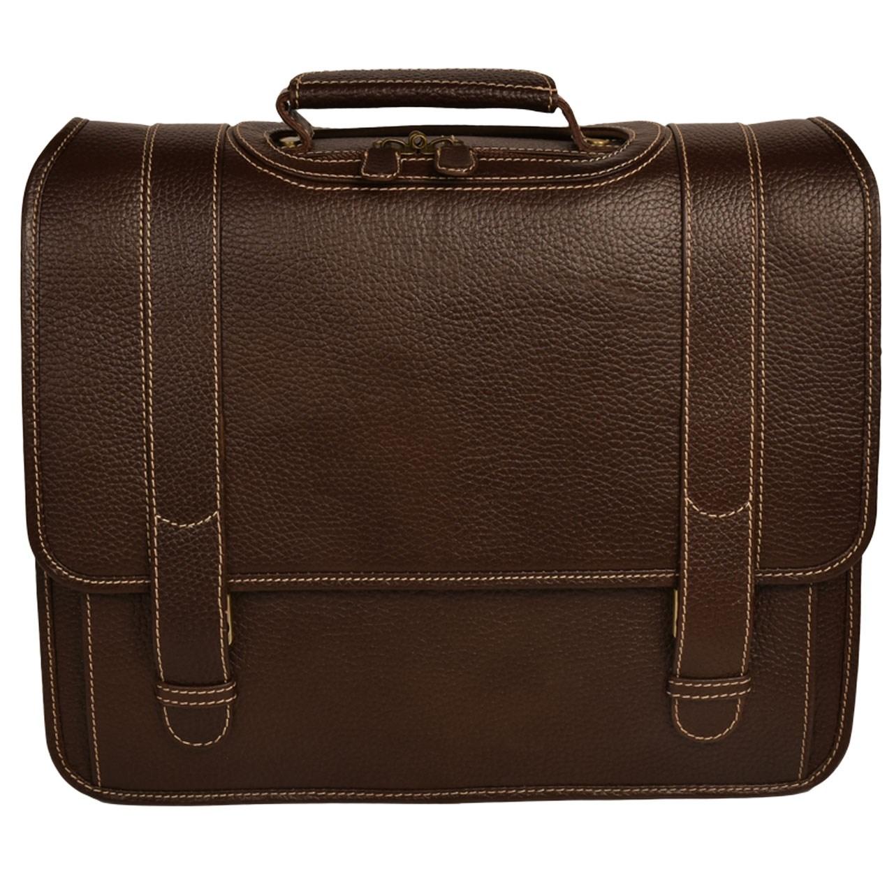 کیف اداری چرم طبیعی کهن چرم مدل LT1-15