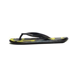 دمپایی لاانگشتی پسرانه مدل پلنگی رنگ زرد