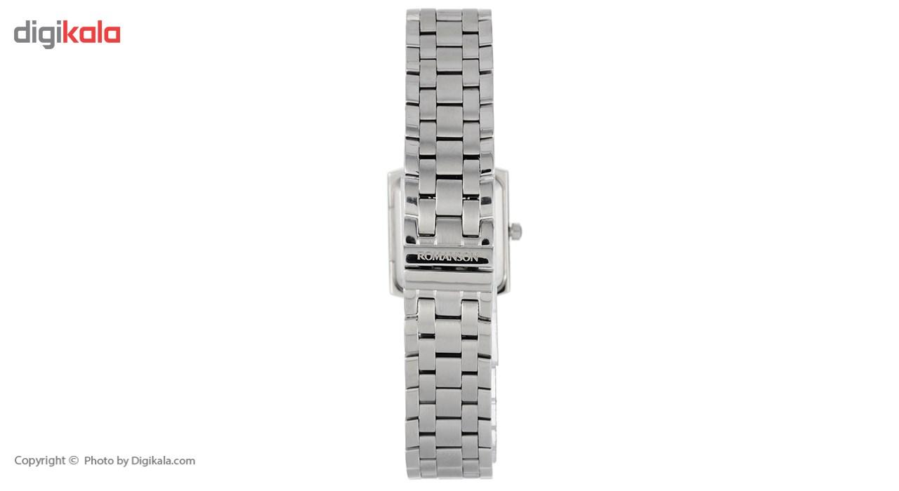 ساعت مچی عقربه ای زنانه رومانسون مدل TM7601LL1WA32W -  - 4