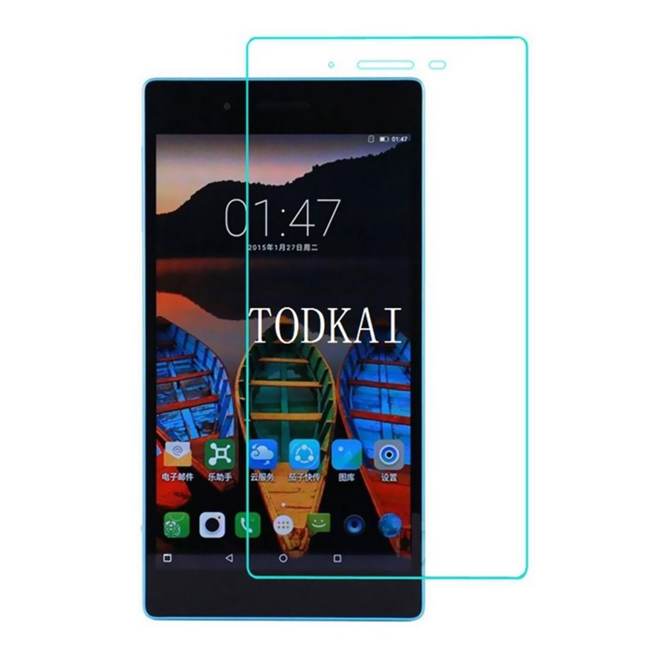 محافظ صفحه نمایش شیشه ای تمپرد مناسب برای تبلت لنوو Tab 3 7 Essential 4G