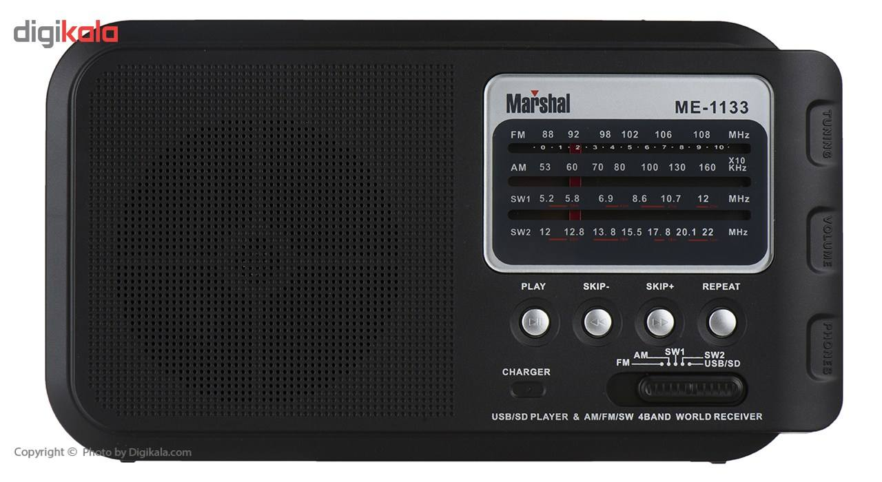 رادیو مارشال مدل ME-1133 main 1 1