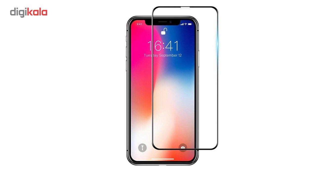 محافظ صفحه نمایش شیشه ای جی سی پال مناسب برای گوشی موبایل اپل آیفون ایکس/10 main 1 1
