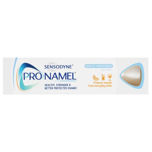 خمیر دندان سنسوداین مدل Pro-Namel Gentle Whitening حجم 75 میلی لیتر