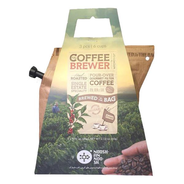 قهوه پاکتی گروئرز کاپ بسته 3 عددی