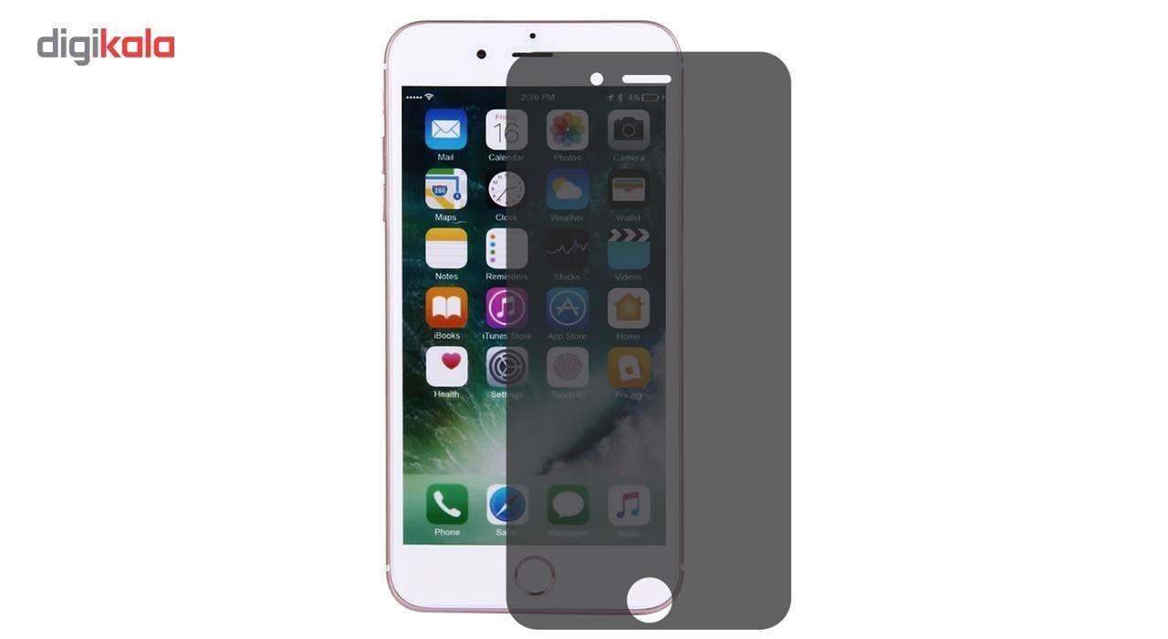 محافظ صفحه نمایش شیشه ای مدل Privacy مناسب برای گوشی موبایل اپل آیفون 6/6s main 1 1