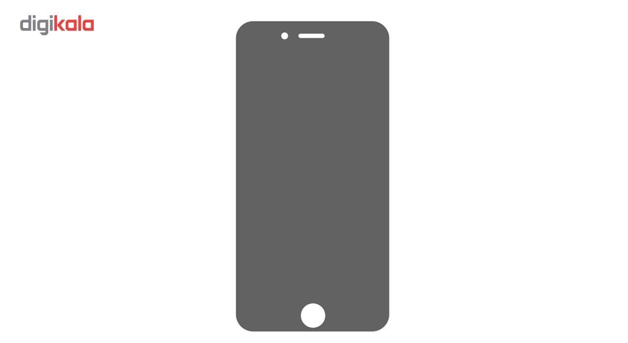 محافظ صفحه نمایش شیشه ای مدل Privacy مناسب برای گوشی موبایل اپل آیفون 6/6s main 1 2