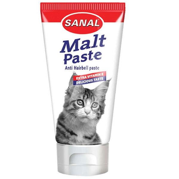 خمیر مالت گربه سانال مدل Anti Hairball وزن 20 گرم