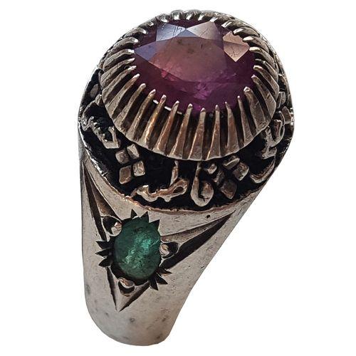 انگشتر نقره جواهرسرا مدل a112j