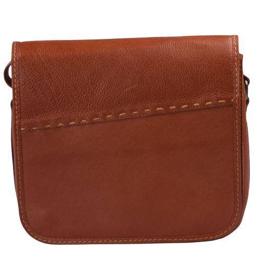 کیف دوشی چرم طبیعی کهن چرم مدل V104-1