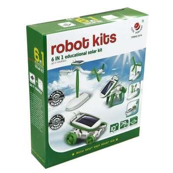 بازی آموزشی 2011A ساخت 6 روبات خورشیدی