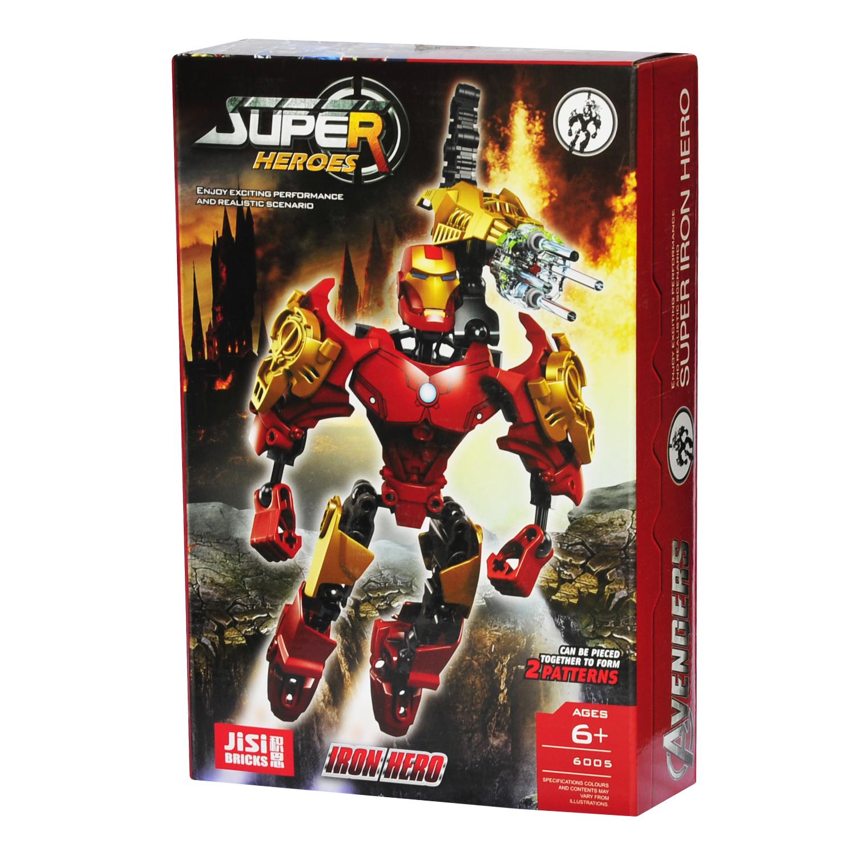 ساختنی جی سی مدل Super Heroes کد 6005