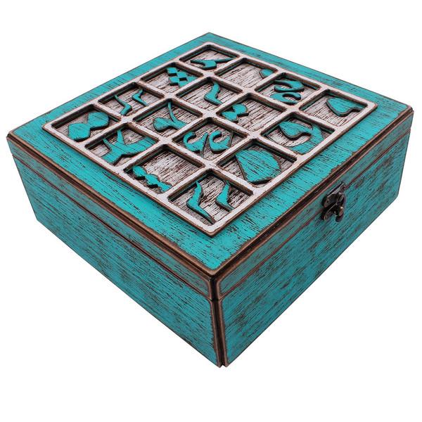 جعبه پذیرایی وندا مدل عشق مشق
