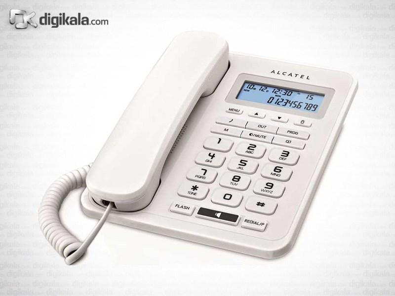 قیمت                      تلفن با سیم الکاتل T50EX