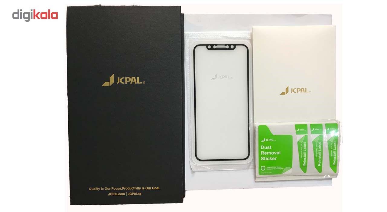 محافظ صفحه نمایش شیشه ای جی سی پال مناسب برای گوشی موبایل اپل آیفون ایکس/10 main 1 5