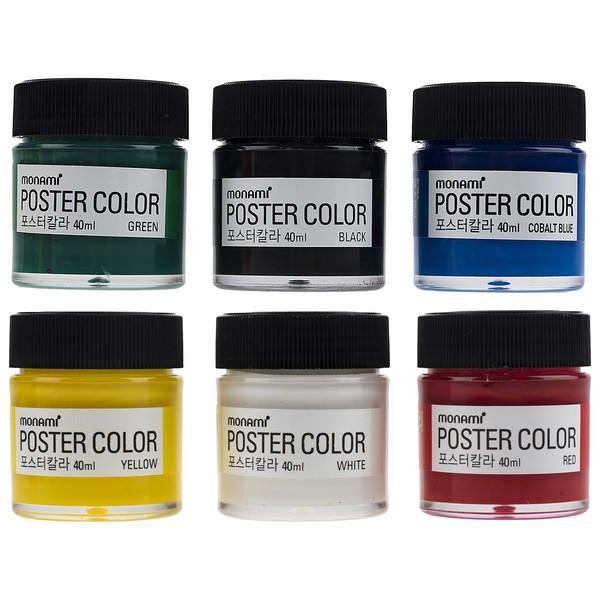 گواش 6 رنگ مونامی کد PC-4006