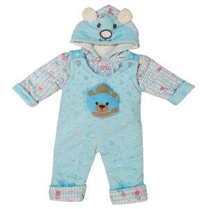 سرهمی نوزادی مدل خرس کوچولوکد Fi10 رنگ آبی