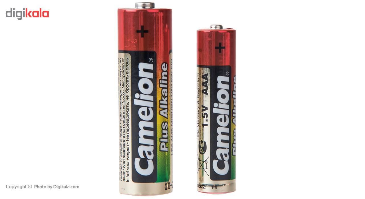 باتری قلمی و نیم قلمی کملیون مدل Plus Alkaline بسته 6 عددی main 1 2