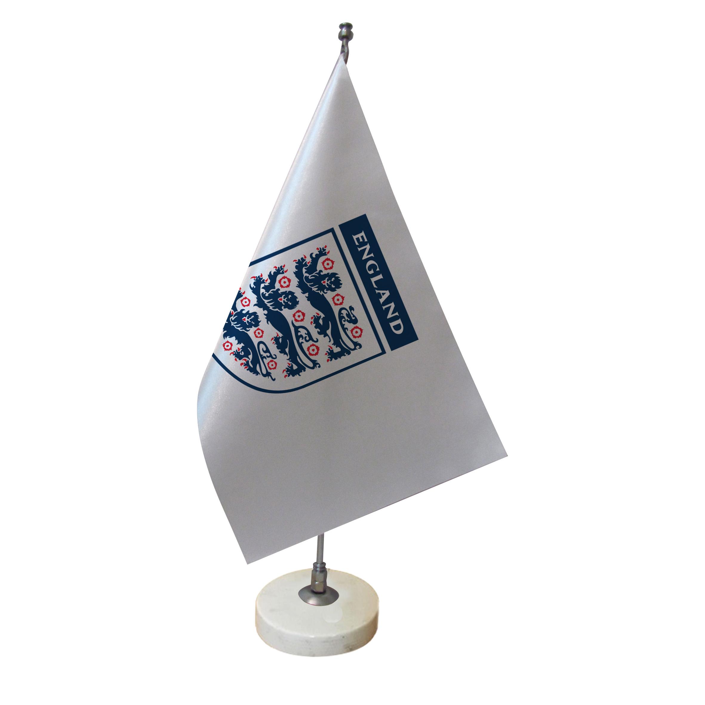 خرید                      پرچم رومیزی طرح تیم ملی فوتبال انگلیس کد pr44