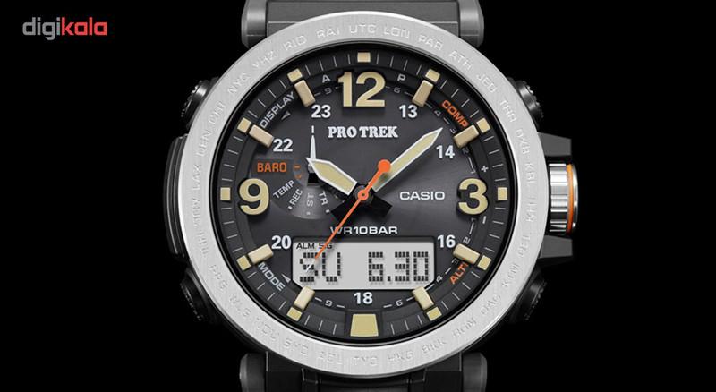 ساعت مچی عقربه ای مردانه کاسیو پروترک مدل PRG-600-1DR