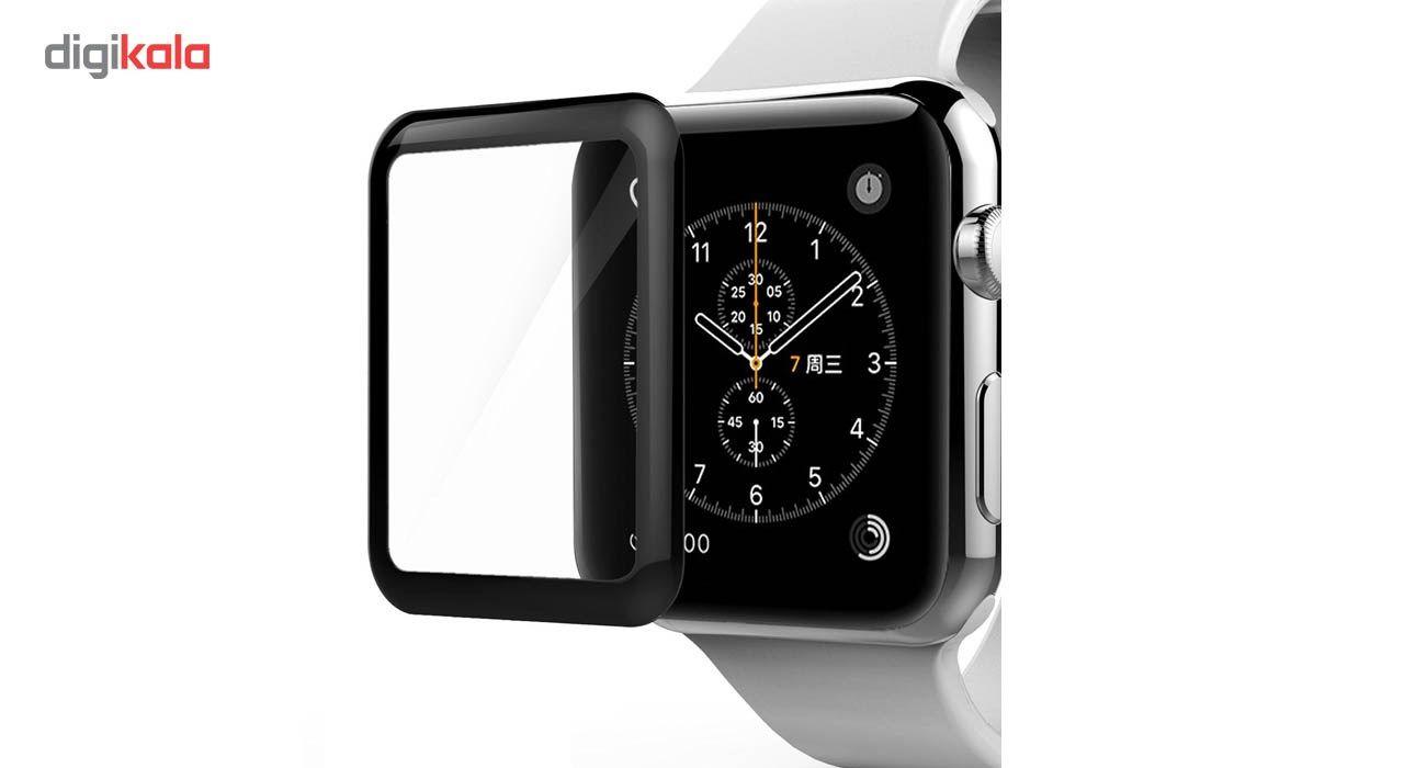 محافظ صفحه نمایش کوتتسی مدل 4ِD Glass  مناسب اپل واچ سایز 42 میلی متر main 1 1