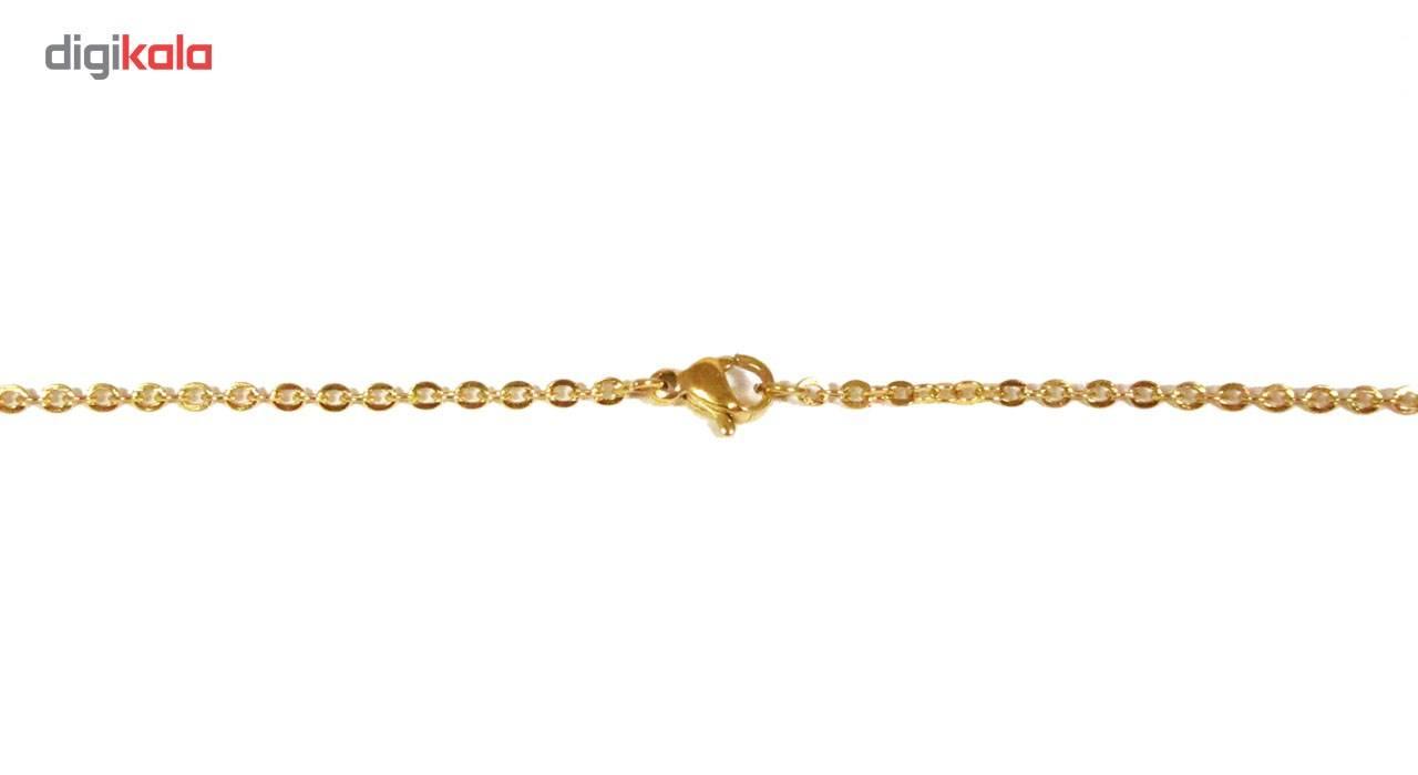 گردنبند آی جواهر طرح نام صبا کد 1100107GE -  - 3