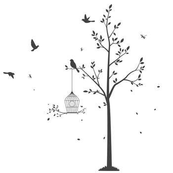استیکر سالسو طرح Spring Tree