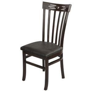 صندلی صنایع چوب قائم مدل k313