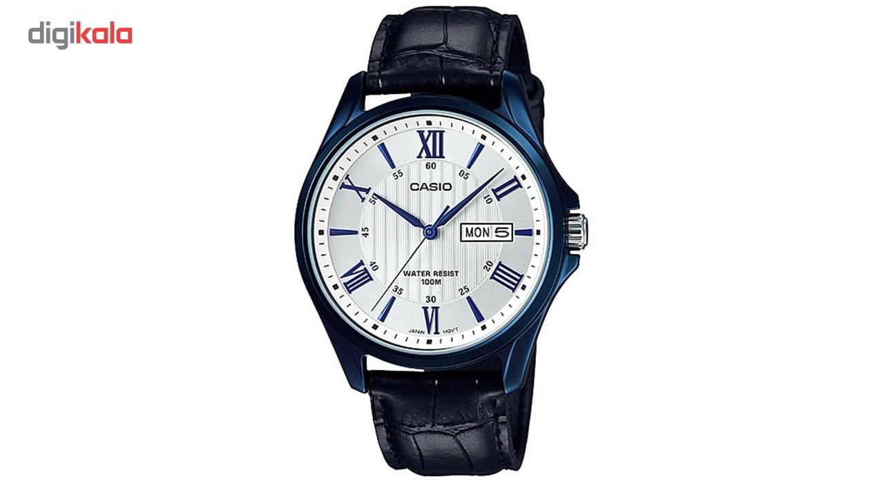 خرید ساعت مچی عقربه ای مردانه کاسیو مدل MTP-1384BUL-7AVDF