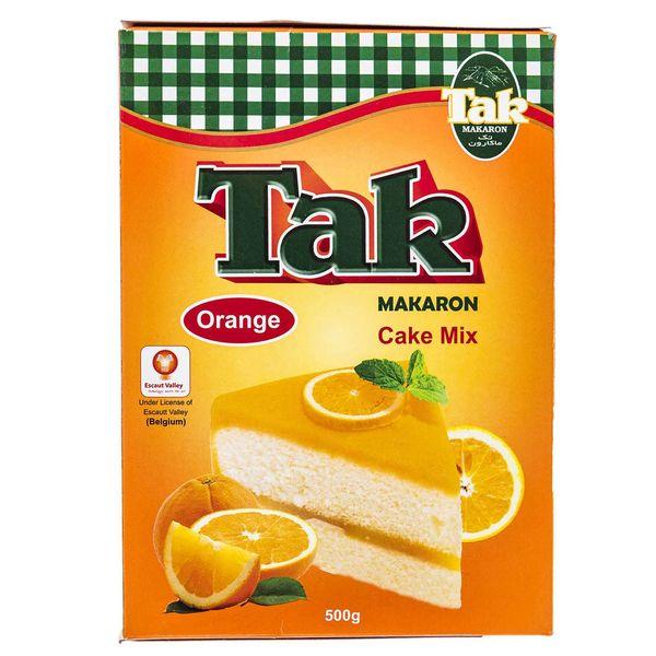 پودر کیک پرتقال تک ماکارون مقدار 500 گرم