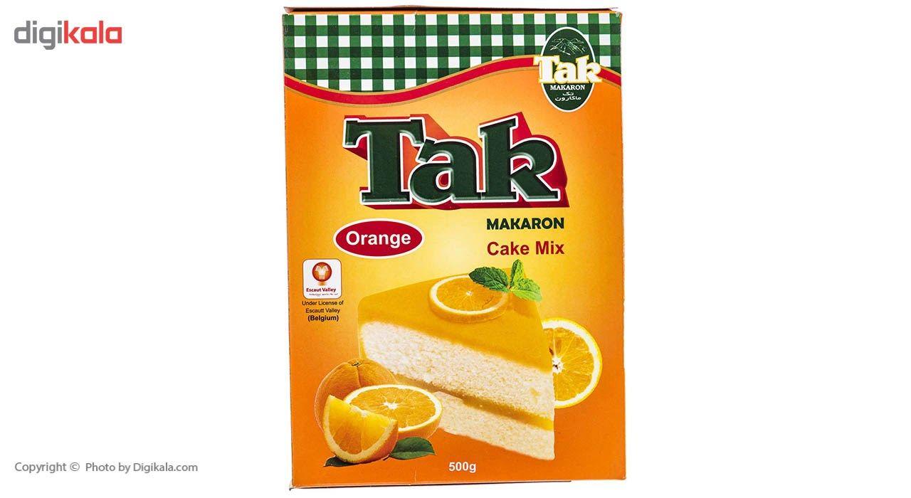 پودر کیک پرتقال تک ماکارون مقدار 500 گرم main 1 4