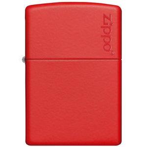 فندک زیپو مدل Red Matte with Zippo Logo کد 233ZL