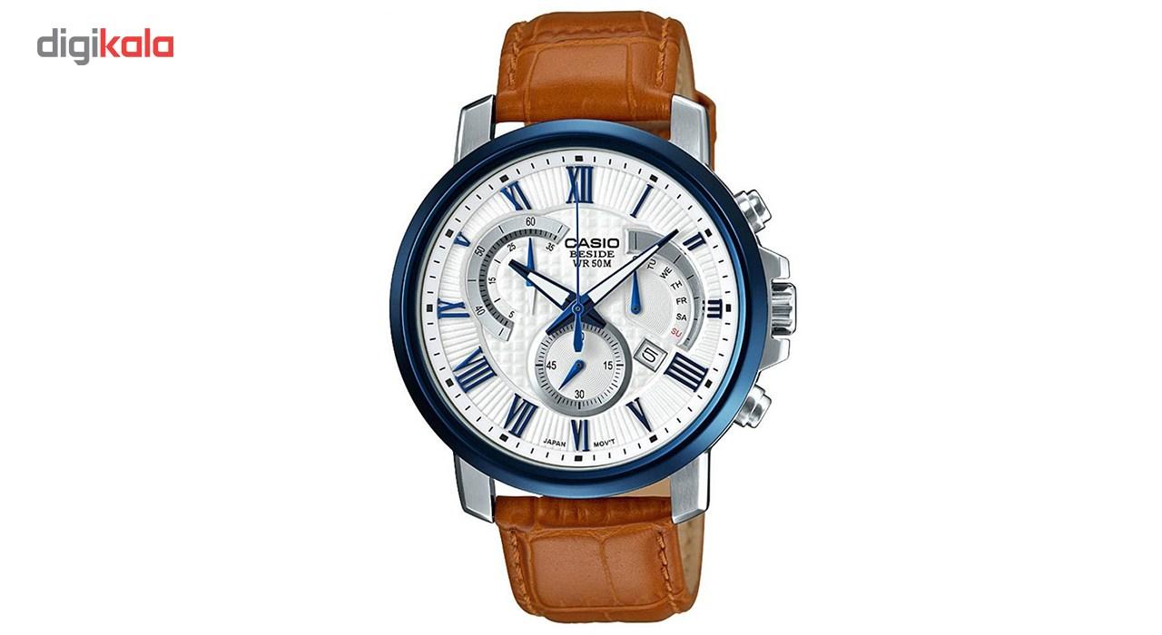 ساعت مچی عقربه ای مردانه کاسیو مدل BEM-520BUL-7A2VDF              خرید (⭐️⭐️⭐️)