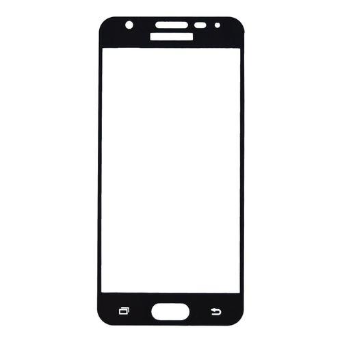 محافظ صفحه نمایش شیشه ای تمپرد مدل Full Cover مناسب برای گوشی موبایل سامسونگ Galaxy J5 Prime