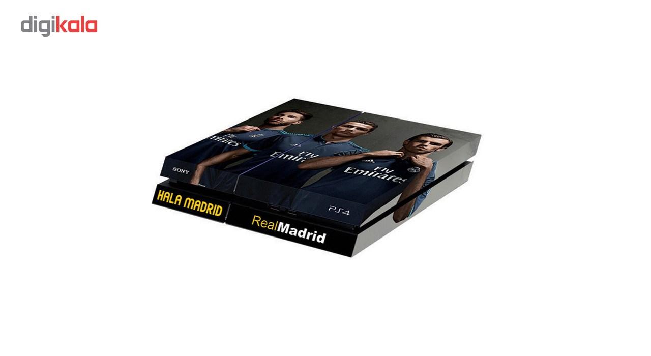 خرید اینترنتی برچسب افقی پلی استیشن 4 گراسیپا طرح Real Madrid اورجینال