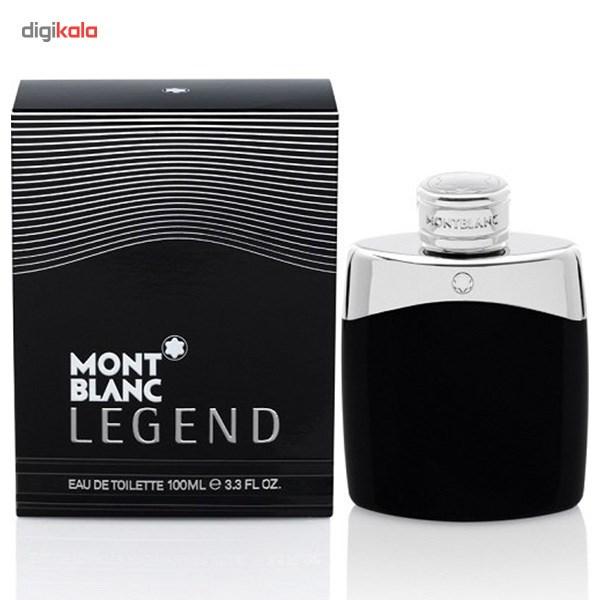 ادو تویلت مردانه مون بلان مدل Legend حجم 100 میلی لیتر  Mont Blanc Legend Eau De Toilette For Men 100ml