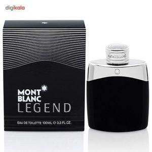 ادو تویلت مردانه مون بلان مدل Legend حجم 100 میلی لیتر  Mont Blanc Legend Eau De Toilette For Men