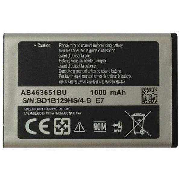 باتری موبایل  گالکسی مدل AB463651BU با ظرفیت 1000mAh مناسب برای گوشی موبایل سامسونگ Corby