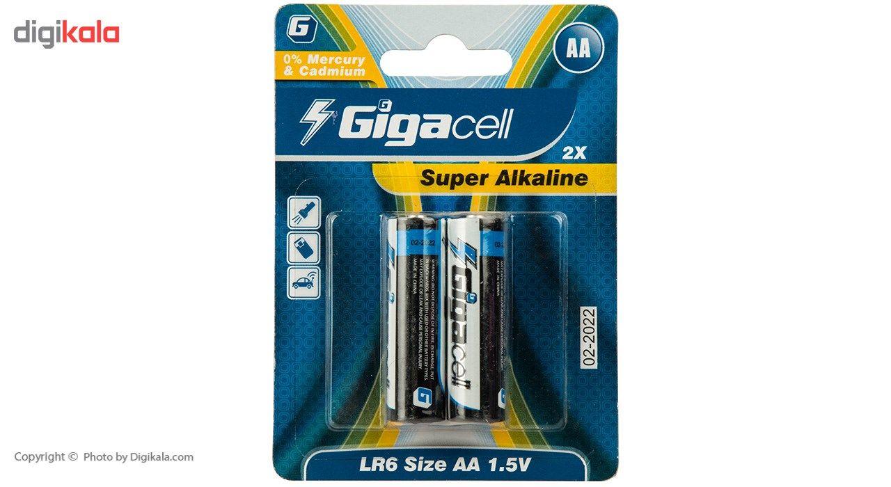 باتری قلمی گیگاسل مدل Super Alkaline - بسته 2 عددی main 1 1