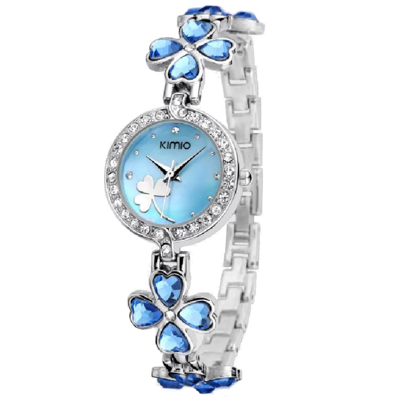 ساعت مچی عقربه ای زنانه کیمیو مدل K456L-Blue