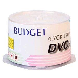 دی وی دی خام  باجت مدل DVD-R بسته 50 عددی