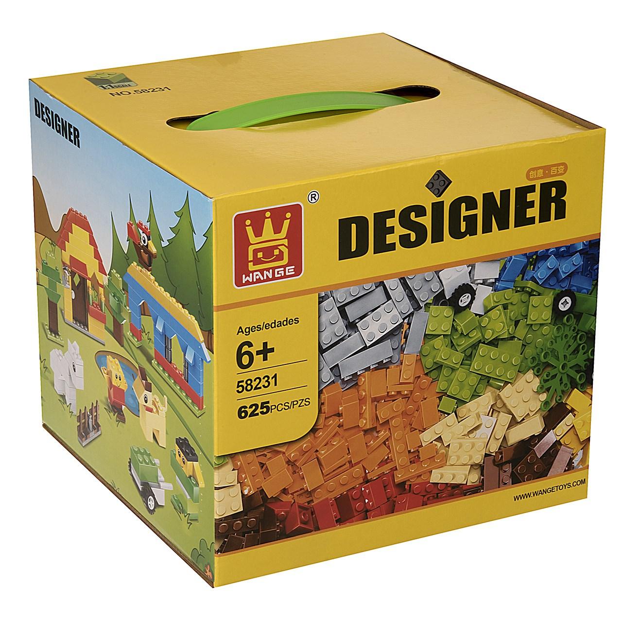 بازی ساختنی مدل Designer