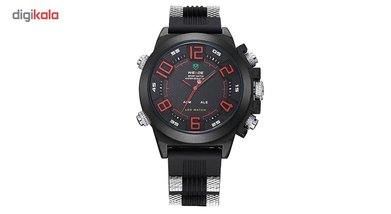 خرید ساعت مچی عقربه ای مردانه وید مدل WH5202-RED