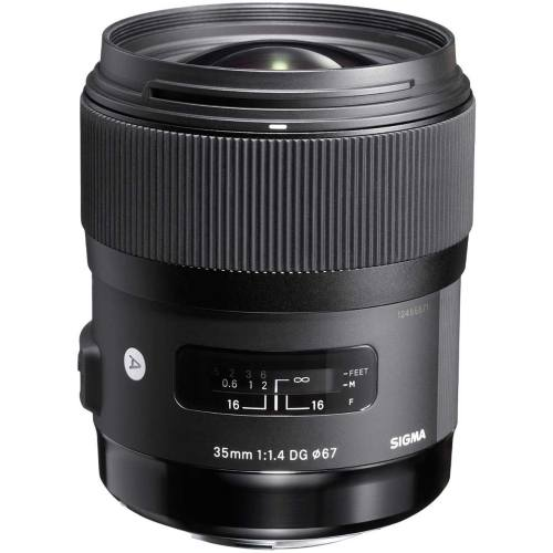 لنز سیگما مدل 35mm f/1.4 DG HSM Art مناسب برای دوربین های نیکون