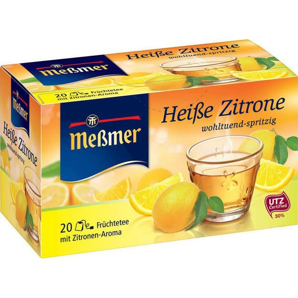 بسته دمنوش گیاهی مسمر مدل Heibe Zitrone Wohltuend - spritzig